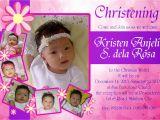 Invitation Card Design for Baptism Otep S Portfolio Christening Invitation Card Design 01