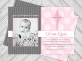 Invitation Card for Baptism Of Baby Girl Baby Girl Baptism Invitations Baby Girl Christening