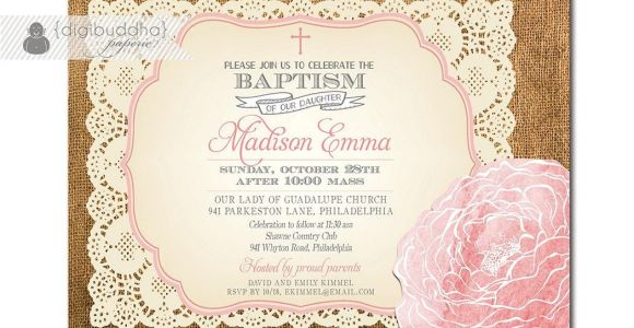 Invitation Card for Baptism Of Baby Girl Baptism Invitation Free Baptism Invitations to Print