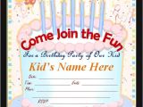 Invitation Card for Birthday Party Online Best Creation Maker Birthday Invitation Cards Online Party