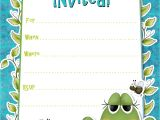 Invitation Cards for Party with Words Birthday Party Invitation Template Birthday Party
