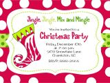 Invitation for A Christmas Party Wording Christmas Party Invitation