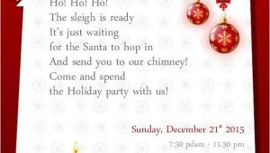 Invitation for A Christmas Party Wording Christmas Party Invitation Wording Templates