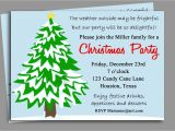 Invitation for A Christmas Party Wording Funny Christmas Party Invitation Wording Ideas Cimvitation