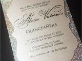 Invitation for A Quinceanera Quinceanera Invitation Sweet 16 Invitation Glitter