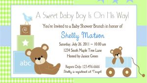 Invitation for Baby Shower Free Baby Shower Invitation Wording Lifestyle9