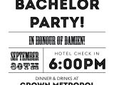 Invitation for Bachelor Party Wording Bachelor Party Invitations – Gangcraft