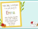 Invitation for Birthday Party Sample How to Write A Birthday Invitation