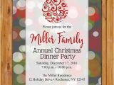 Invitation for Christmas Dinner Party 50 Printable Dinner Invitation Templates Psd Ai Free