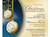 Invitation for Christmas Dinner Party Christmas Dinner Party Invitations Cimvitation