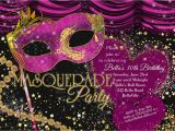 Invitation for Masquerade Party How to Plan A Rocking Masquerade Party Birthday Party