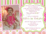 Invitation for One Year Old Birthday Party 5 Year Old Birthday Party Invitations