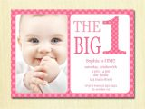 Invitation for One Year Old Birthday Party E Year Old Birthday Party Invitations 2