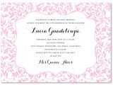 Invitation for Quinceaneras Samples Download and Print Invitation Template for Quinceanera