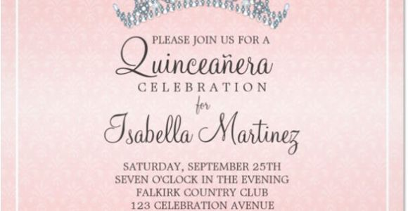 Invitation for Quinceaneras Samples Quinceanera Invitations Template 24 Free Psd Vector