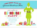 Invitation for the Christmas Party Buddy the Elf Christmas Party Printable Invitation