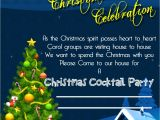 Invitation for the Christmas Party Christmas Invitation Template and Wording Ideas