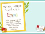 Invitation format for Party How to Write A Birthday Invitation Eysachsephoto Com