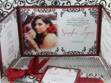 Invitation Ideas for Quinceaneras Jinky 39 S Crafts Designs Gate Fold Custom Invitations