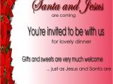 Invitation Language Party Christmas Invitation Template and Wording Ideas
