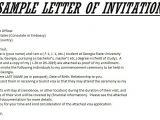 Invitation Letter for Graduation Party Sample Invitation Letter for Commencement Guest Speaker