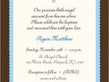Invitation Message for Baptism Baby Boy Baptism Invitation Boy or Girl Baby Boy Invitation