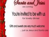 Invitation Quotes for Christmas Party Christmas Invitation Template and Wording Ideas