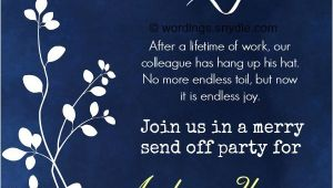 Invitation Retirement Party Wording Retirement Party Invitation Wording Ideas and Samples