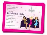 Invitation to A Bachelorette Party Wording Printable Bachelorette Party Invitations Girls by