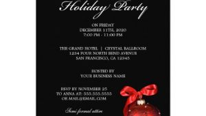 Invitation to A Company Christmas Party Corporate Holiday Party Invitations Zazzle Com