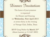 Invitation to A Dinner Party Wording Fab Dinner Party Invitation Wording Examples You Can Use