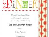 Invitation to A Dinner Party Wording Informal Dinner Party Invitation Wording Cimvitation