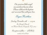 Invitation to Baptism Wording Baby Boy Baptism Invitation Boy or Girl Baby Boy