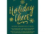 Invitation to Company Holiday Party Corporate Holiday Party Invitations Golden Holiday Cheer