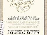 Invitation to Engagement Party Wording Card Template Engagement Party Invitation Card