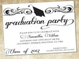 Invitation to Graduation Party Wording Graduation Party Invitations Graduation Party