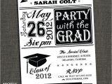 Invitation to High School Graduation Party College Graduation Party Invitations Template Best