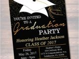 Invitation to High School Graduation Party Editable Graduation Party Invitation High School Graduation