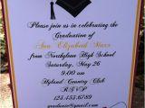 Invitation to High School Graduation Party High School Graduation Party Ideas College High School