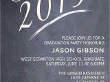Invitation to High School Graduation Party Printable Graduation Party Invitation Graduation Announcement