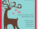 Invitation to the Christmas Party Christmas themed Birthday Party Invitations