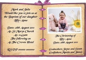 Invitation Wording for Baptism and Birthday Birthday and Baptism Invitations First Birthday and