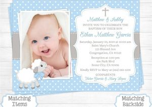 Invitation Wording for Baptism and Birthday Birthday Invitations Birthday and Baptism Invitations