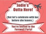 Invitation Wording for Farewell Party 10 Farewell Party Invitation Wordings to Bid Goodbye In Style