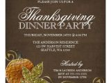 Invitation Wording for Thanksgiving Party Thanksgiving Dinner Party Invitations Zazzle