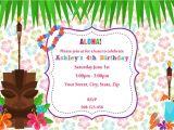 Invitations for 15 Birthday Party Hawaiian Birthday Invitations Hawaiian Birthday