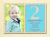 Invitations for 2 Year Old Party 2 Year Old Birthday Invitations Templates