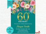 Invitations for 60 Birthday Party Best 25 60th Birthday Invitations Ideas On Pinterest