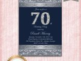 Invitations for 70th Birthday Party Templates 70th Birthday Party Invitations Party Invitations Templates
