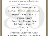 Invitations for 80th Birthday Surprise Party 10 Sample 80th Birthday Party Invitations